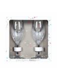 Albi Svatební skleničky na sekt 2 x 140 ml