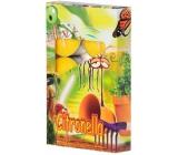 Adpal Citronella repelentní vonné čajové svíčky proti komárům 6 kusů