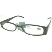 Berkeley Čtecí dioptrické brýle +4,0 plast černé stranice s kamínky 1 kus MC2154
