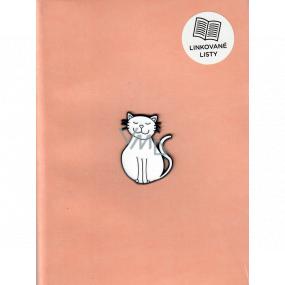 Albi Blok s propiskou Kočka 21 x 14,5 x 1,5 cm