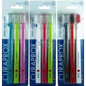 Curaprox CS 5460 Ultra Soft nejměkčí nabízená varianta zubní kartáček 3 ks