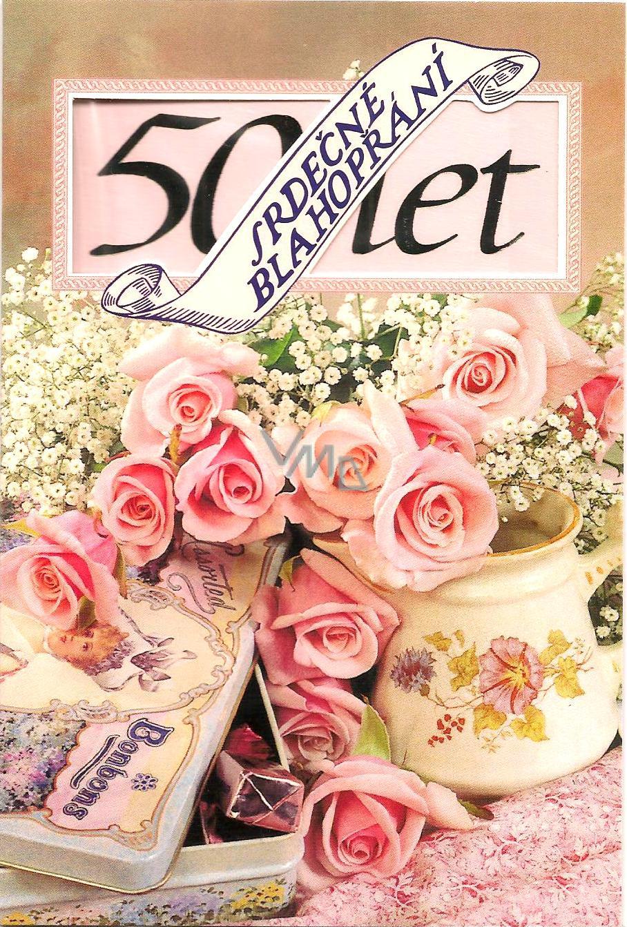 přání k narozeninám 50 Nekupto Přání k narozeninám 50 let   VMD parfumerie   drogerie přání k narozeninám 50