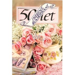 Nekupto Přání k narozeninám 50 let