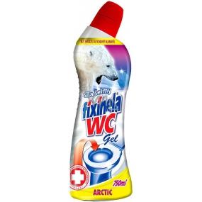 Fixinela Wc Arctic čistící prostředek na toaletní mísy, bidety, vany, umyvadla, sprchy 750 ml