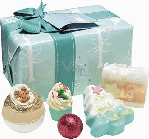 Bomb Cosmetics Zimní prohřátí - Winter Wonderland mix balistiků a mýdel 5 kusů 500 g, kosmetická sada