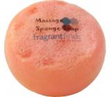 Fragrant Daisy Chain Glycerinové mýdlo masážní s houbou naplněnou vůní parfému Marc Jacobs Daisy v barvě bílooranžové 200 g