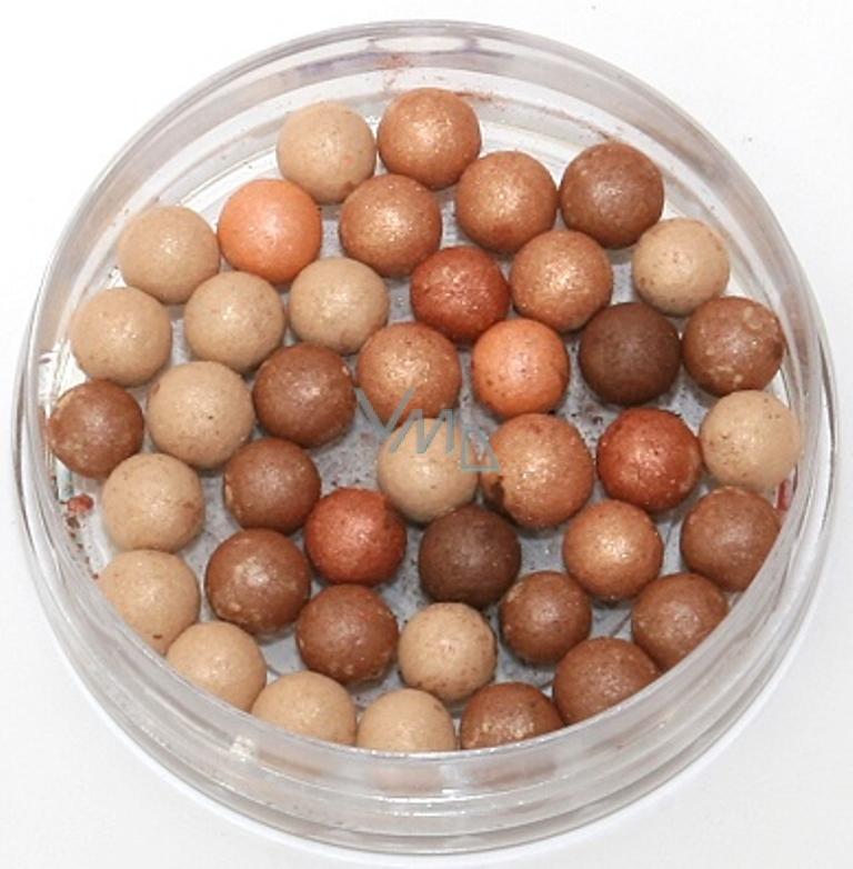 Charlotte Kuličkový pudr Luminiscent Pearls Bronze 20 g