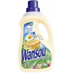 Wansou Marseille Soap tekutý prací prostředek 20 dávek 1,4 l