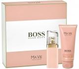 Hugo Boss Ma Vie pour Femme parfémovaná voda 50 ml + tělové mléko 100 ml, dárková sada