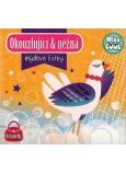 Nekupto Miss Cool Mýdlové lístky Slepička Okouzlující & něžná 15 kusů 1 balení QQ 008