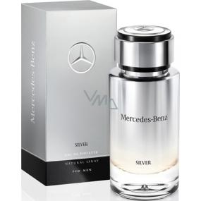 Mercedes-Benz Mercedes Benz Silver for Men toaletní voda 75 ml