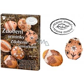 Sada k dekorování vajíček Zdobení semínky