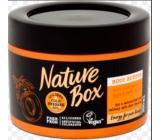 Nature Box Meruňka Vitamínový antioxidant tělové máslo pro pocit intenzivního obnovení pokožky se 100% za studena lisovaným olejem, vhodné pro vegany 200 ml