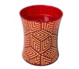 WoodWick Crimson Berries - Červené bobule vonná svíčka s dřevěným knotem a víčkem sklo střední 275 g Holiday limitid 2018