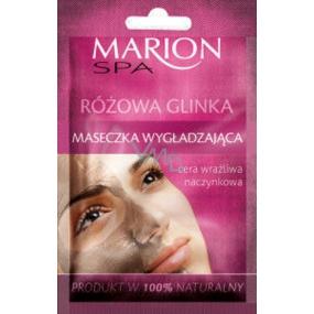 Marion Spa vyhlazující maska s růžovým jílem pro citlivou, jemnou a prokrvenou pokožku 8 g