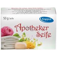 Kappus Apotheker antibakteriální lékařské velmi jemné toaletní mýdlo 50 g