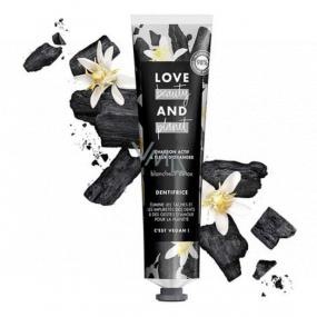 Love Beauty & Planet Detox Whitening Aktivní uhlí a pomerančový bělicí květ zubní pasta 75 ml