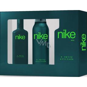 Nike A Spicy Attitude Man toaletní voda 75 ml + deodorant sprej 200 ml, dárková sada