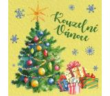 Nekupto Přání vánoční Stromeček Kouzelné Vánoce 100 x 100 mm