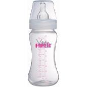 Baby Farlin kojenecká láhev s širokým hrdlem PP-805-2 270 ml děti od 3 měsíců