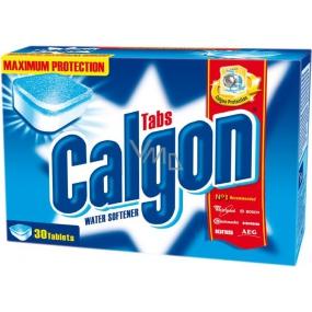 Calgon odstraňovač vodního kamene tablety 30 kusů