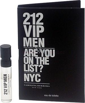 Carolina Herrera 212 VIP Men toaletní voda 1,5 ml s rozprašovačem, Vialka
