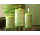 Lima Savana svíčka zelená válec 60 x 120 mm 1 kus