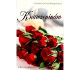 Nekupto Přání k narozeninám rudé růže