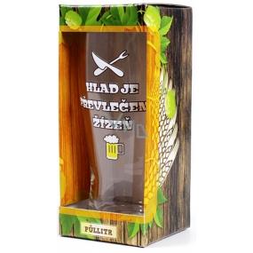 Albi Pivní liga Půllitr v krabičce Hlad je převlečená žízeň 0,5 l