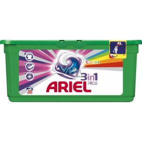 Ariel 3v1 Color gelové kapsle na barevné prádlo 30ks 897g