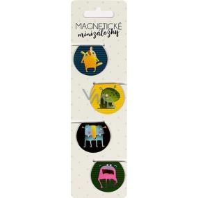 Albi Magnetické minizáložky Příšerky 4 kusy