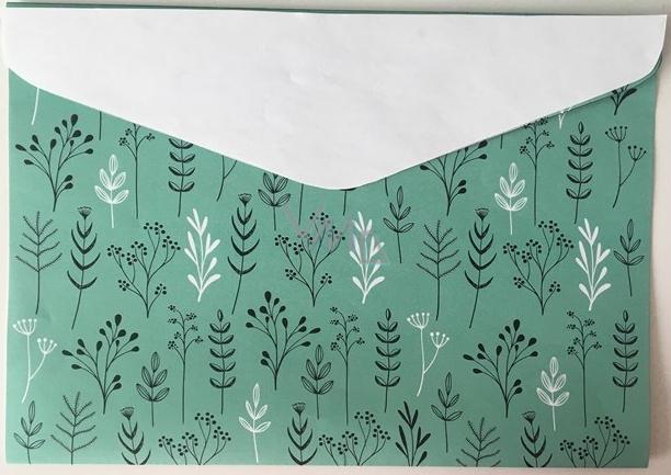 Albi Pouzdro na dokumenty Větve zelené A5 148 x 210 mm