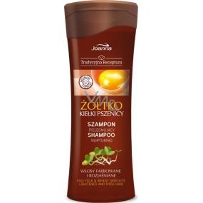 Joanna Traditional Žloutek a pšeničné klíčky šampon na vlasy 300 ml