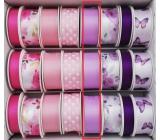 Ditipo Stuha vázací saténová fialová 3 m x 25 mm