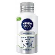 Nivea Men Sensitive balzám pro citlivou pleť a strniště 125 ml