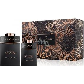 Bvlgari Man In Black parfémovaná voda pro muže 60 ml + parfémovaná voda 15 ml, dárková sada