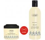 Ziaja Hedvábné proteiny vyhlazující maska na vlasy 200 ml + šampon na vlasy 300 ml, duopack