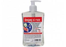 Bohemia Gifts Antibakteriální přísada tekuté mýdlo 500 ml