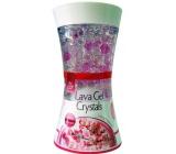 Pan Aroma Lava Gel Crystals Cherry Blosom gelový osvěžovač vzduchu 150 g
