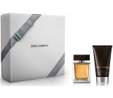 Dolce & Gabbana The One for Men toaletní voda 50 ml + balzám po holení 75 ml, dárková sada