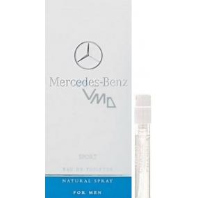 DÁREK Mercedes-Benz Mercedes Benz Sport toaletní voda pro muže 1,5 ml s rozprašovačem, vialka