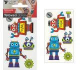 Tetovací obtisky roboti 10,5 x 6 cm