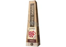 Bohemia Gifts Horká extra jemná výběrová čokoláda Babičce s vysokým podílem kakaového másla 30 g