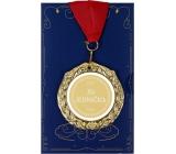 Albi Papírové přání do obálky Přání s medailí - Jsi jednička W