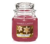 Yankee Candle Glittering Star - Zářivá hvězda vonná svíčka Classic střední sklo 411 g