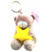 Me to You Klíčenka plyšová Medvídek Hvězda 8 cm