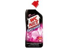 Wc Net Gelcrystal Pink Flower Wc gelový čistič 750 ml