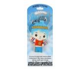 Albi Andělíček strážníček - Andělíček sporťáček přívěsek 8,5 cm