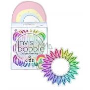 Invisibobble Kids Magic Rainbow Gumička do vlasů pro malé princezny duhová spirálová 3 kusy