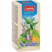 Apotheke Na odvodnění bylinkový čaj podporuje vylučování vody z organismu a normální činnost ledvin 20 x 1,5 g